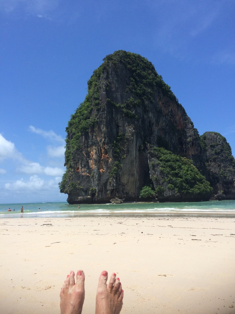 traveling widow healing adventure Rai Lay