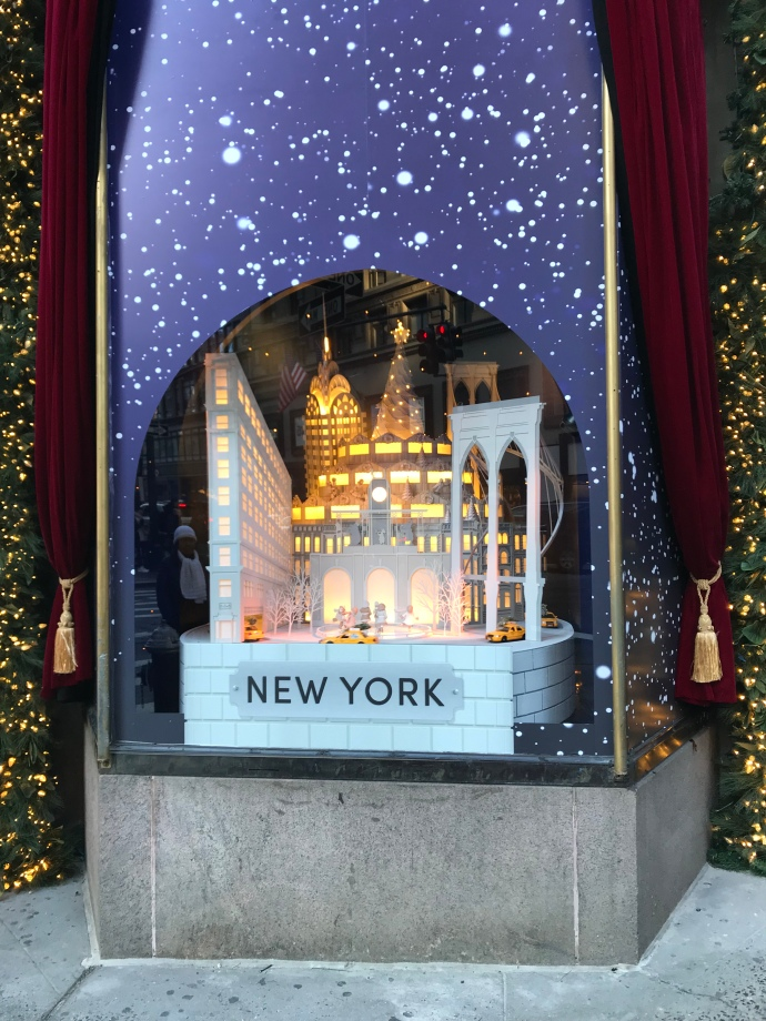 Lord and Taylors Christmas Window