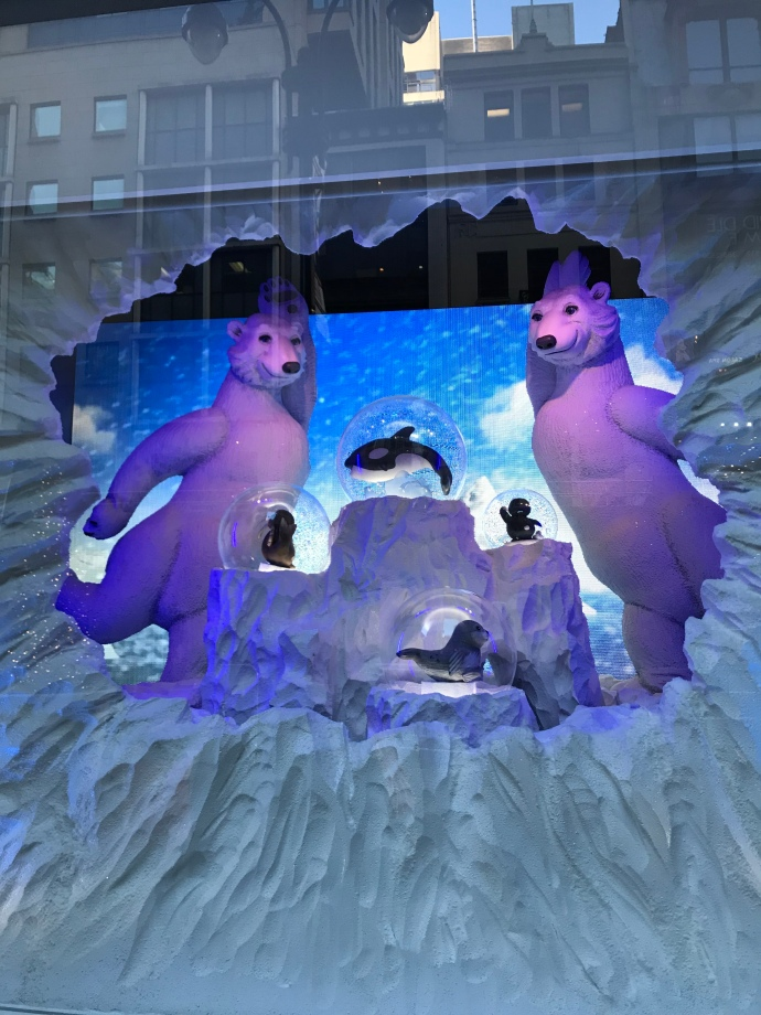 Lord and Taylor Christmas windows