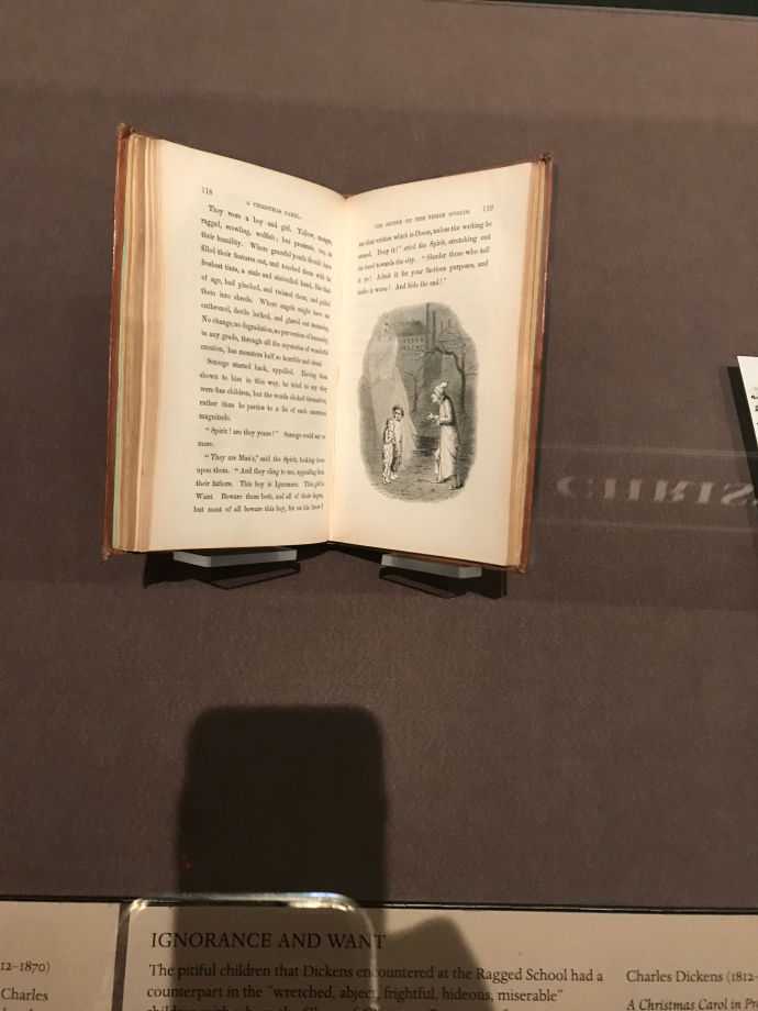 Pierpont Morgan Library Christmas Carol