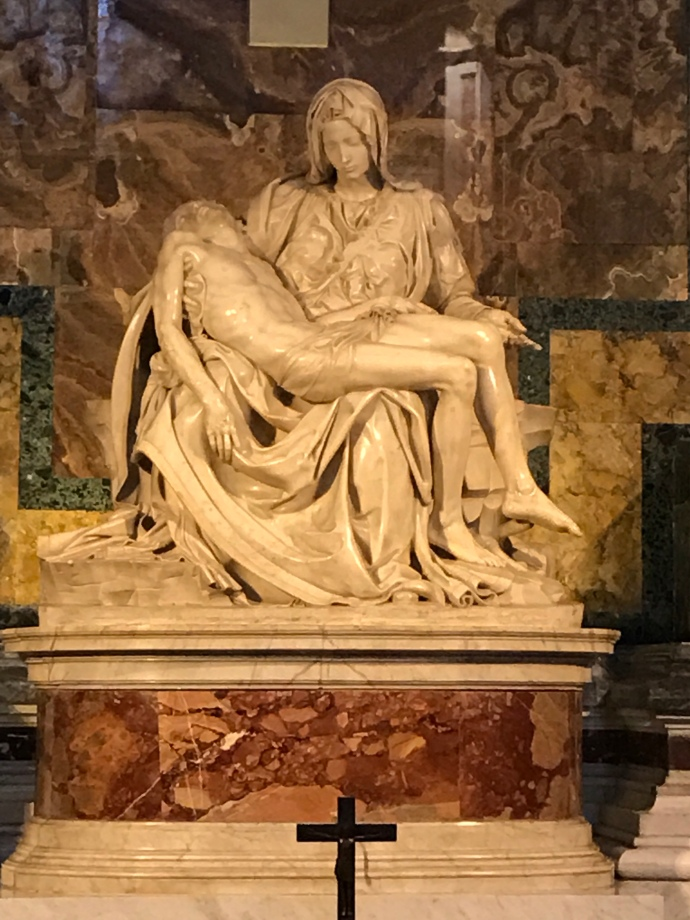 The Pieta St. Paul's Cathedral in Rome