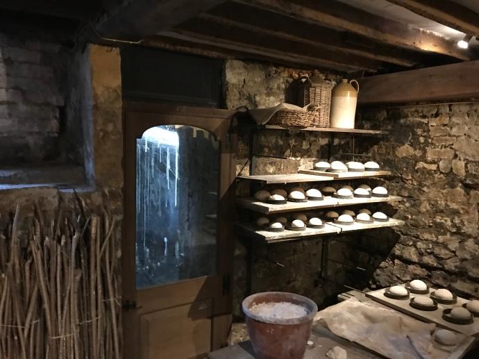 Bath Roman ruins underground Sally Lunn's bun shop