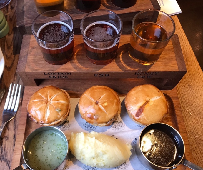 Pies and ales
