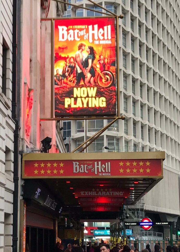 London Theater Bat out of Hell