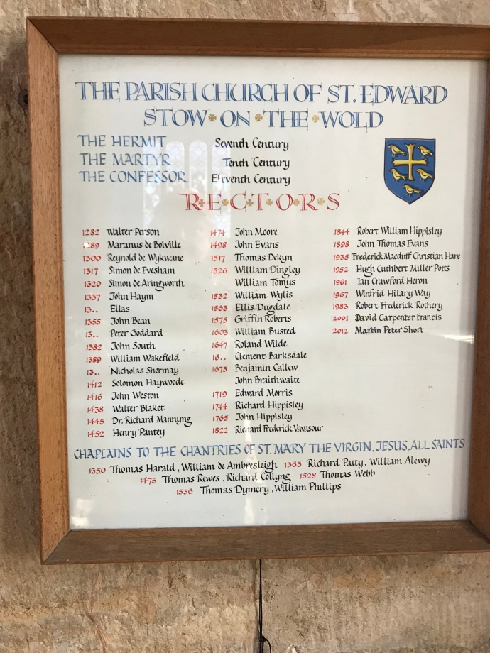 St Edwards stow on the wold