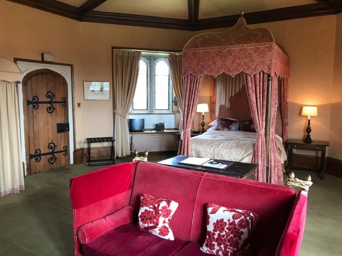 Duke's bedchamber Thornbury Castle