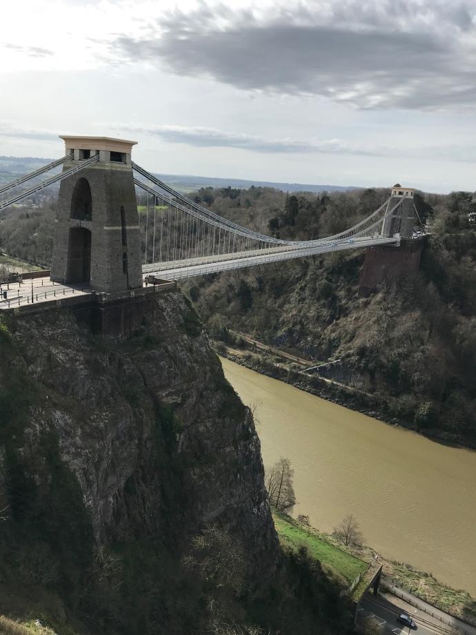 Clifton bridge England