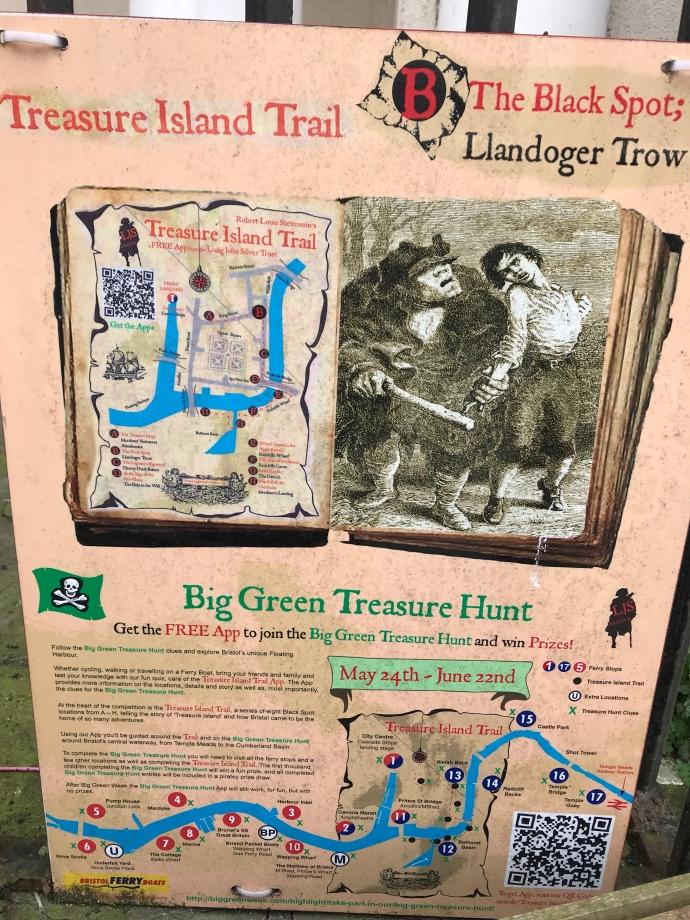 Treasure Island tour Bristol road trip england
