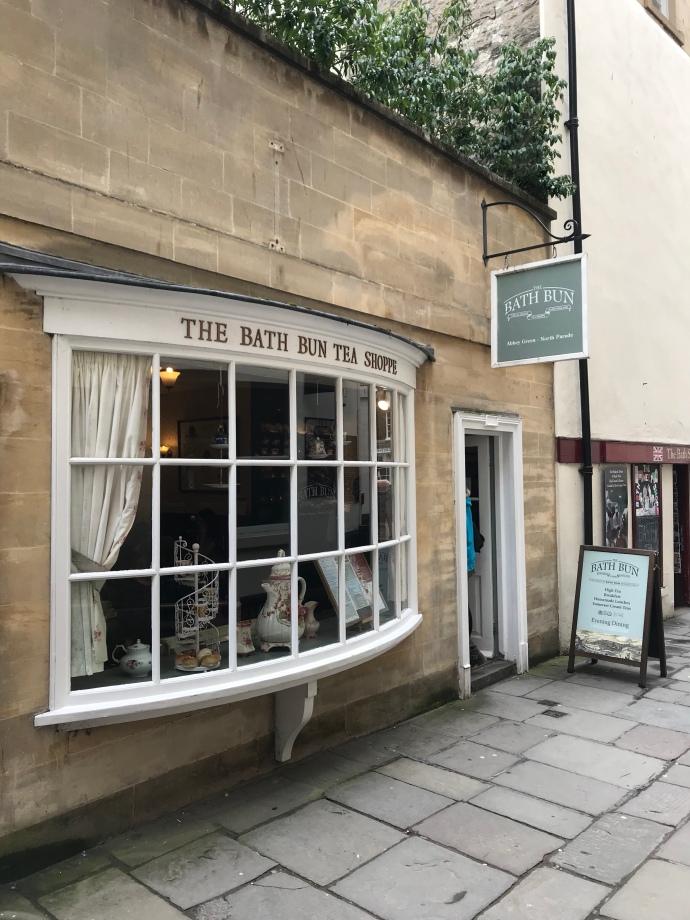 Bath Bun Tea shop in Bath London