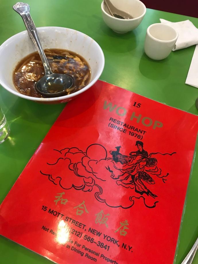 WO HOP Chinatown, New York