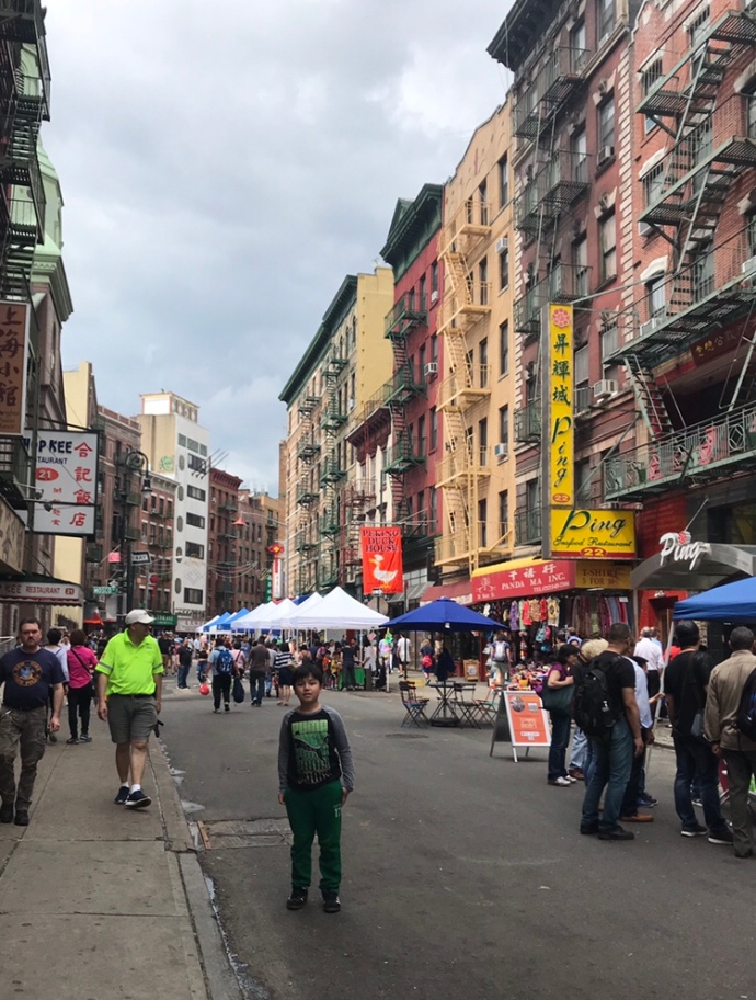 Chinatown, New York in the Spring